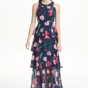 NWT! Tommy Hilfiger Tiered Maxi Dress